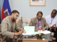 Haiti - Economy : MoU between the APN and the CFI