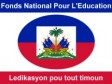 Haiti - Education : Update on the National Fund for Education