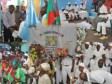 Haiti - Culture : The Minister of Culture, celebrates the kings in the «Lakou Soukri»