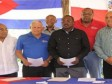 Haiti - Sports : Signature tripartite, of the «Sportive declaration of Jimaní»