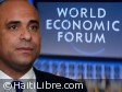Haiti - Economy : Laurent Lamothe at the 43rd World Economic Forum of Davos