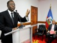 Haiti - Politic : Installation of the new Minister of Finance, Wilson Laleau