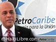 Haiti - Politic : The President Martelly in Venezuela