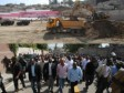 Haiti - Reconstruction : President Martelly visited construction sites