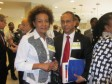 Haiti - Reconstruction : Interventions of Albert Ramdin and Michaëlle Jean in CAED
