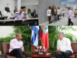 Haiti - Cuba : End of the official visit of Prime Minister Lamothe