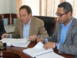 Haiti - Social : Signing of an agreement for the construction of 1,000 houses