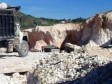 Haiti - Environment : Illegal exploitation of quarries and rivers