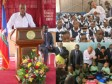 Haiti - Education : President Martelly officially launched the new school year
