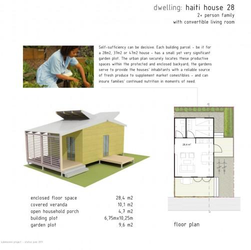 plan maison en haiti