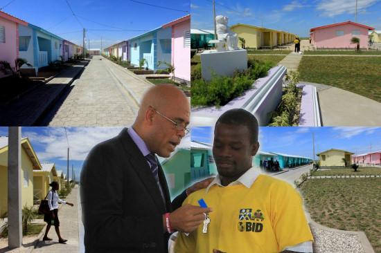 Ha ti reconstruction remise de cl s du projet de 400 for Maison moderne haiti