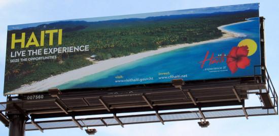 Tourisme en Haiti ? Billboard-i95