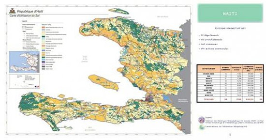 Haiti reconstruction france financed the production of maps of a project of data refresh is in progress order to be able subsequently make a critical analysis of the development of the territory says the embassy of sciox Choice Image