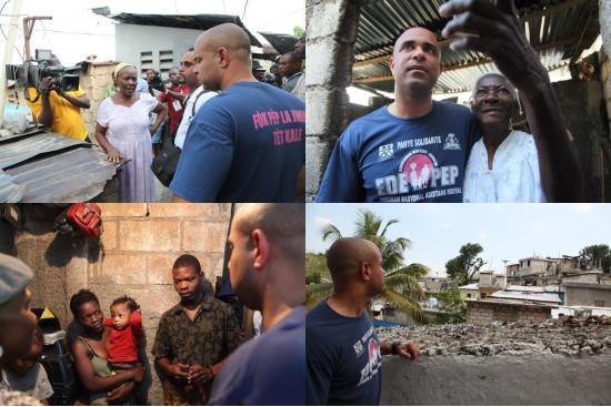 Ha ti politique le premier ministre fait du porte for Canape vert haiti